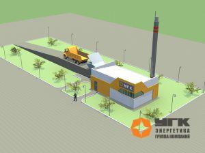 """Подача топлива в угольную котельную от """"УГК-Энергетика"""" (3D-модель)"""
